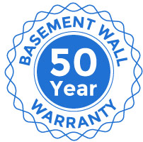Basement Wall 50 Year Warranty