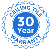 Ceiling Tile 30 Year Warranty