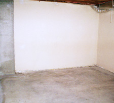 Cement Basement Floor