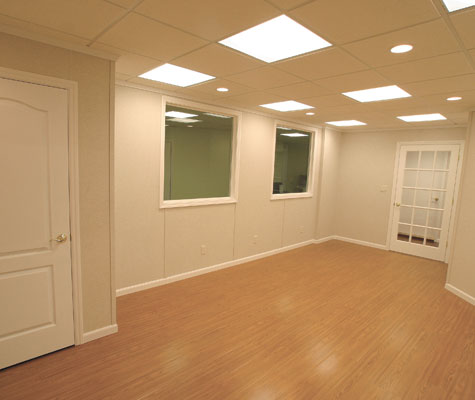 Beautiful Wood Design Laminate Basement Flooring For Colorado Basements