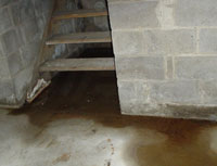 Merveilleux Basement Water From Hatchway Doors