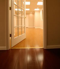 Basement Wood Flooring in Grand Junction
