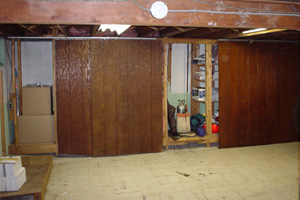 Old Basement Remodel Our Basement Finishing Process  Finishing Your Basement's Floors .