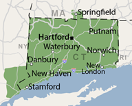 Our Connecticut & Southern Massachusetts Service Area
