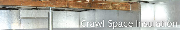 Crawl Space Insulation in MI, including Detroit, Ann Arbor & Warren.