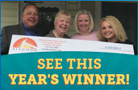 Register to win $13,000 in Home Improvements!