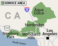 Our California Service Area
