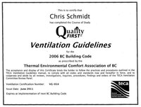 Quality First Ventilation Guidelines