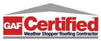 GAF Certified Weather Stopper Roofer Contractor