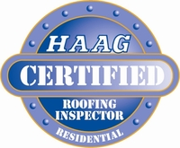 HAAG - Residential Roofing Inspector Certified