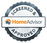 HomeAdvisor.com Screened & Approved Vendor