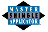 CertainTeed Shingle Master Certified