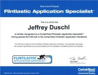 Flintastic Application Specialist- CertainTeed