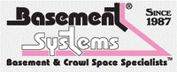 Basement Systems, Inc. Authorized Dealer