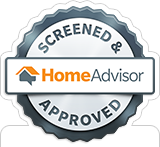 HomeAdvisor Screen & Approved