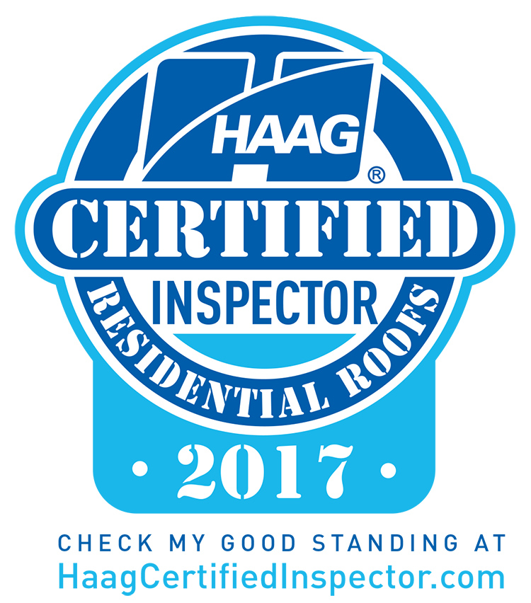 2017 HAAG Certified Inspector - Residential Roofs