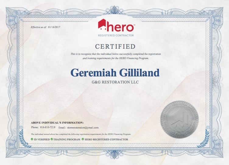 HERO Certification