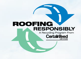 Roofing Responsibly - A Recycling Program from CertainTeed