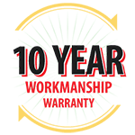 10-Year Workmanship Warranty