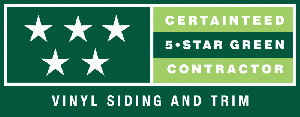 CertainTeed 5-Star Green Contractor