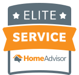 Elite service provider on Home Advisor