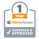 HomeAdvisor 1 Year Screened & Approved