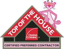 Top of the House, Owens Corning Preferred Contractor