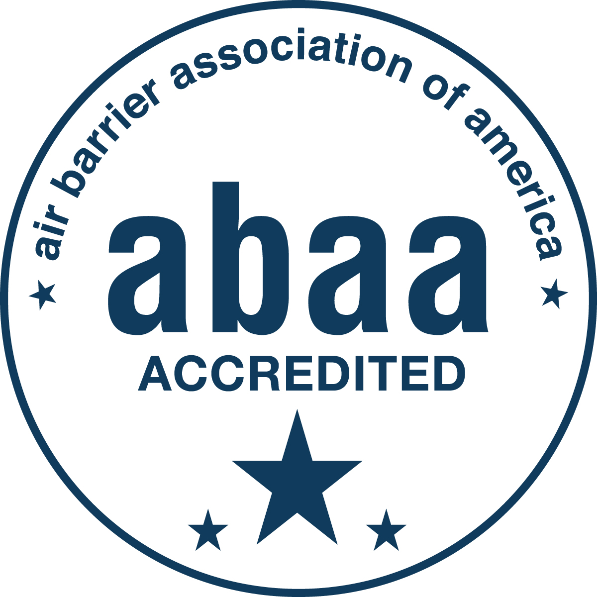 Air Barrier Association of America (ABAA) Accredited