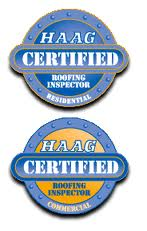 Haag Certified Commercial and Residential Roof Inspectors