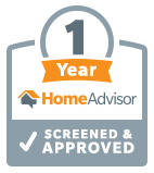 HomeAdvisor 1-Year Anniversary Badge