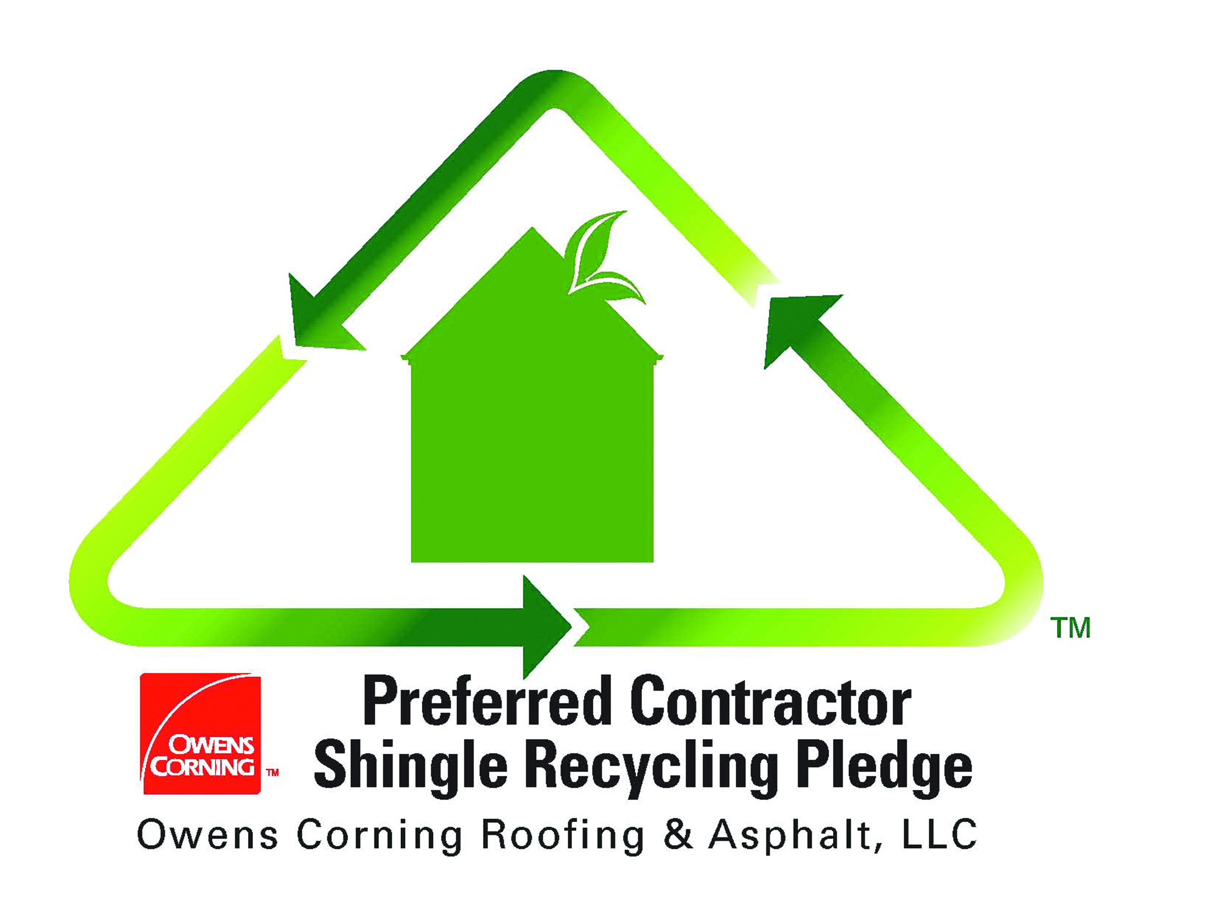 Owens Corning - Shingle Recycling Contractor
