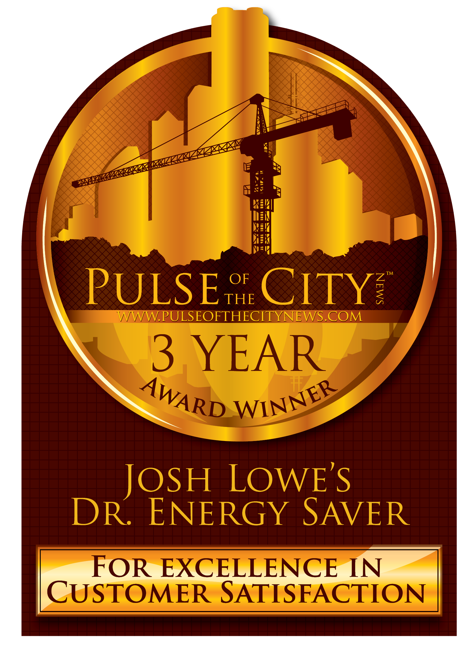 Pulse of the City Award Winner for 2015, 2016, and 2017