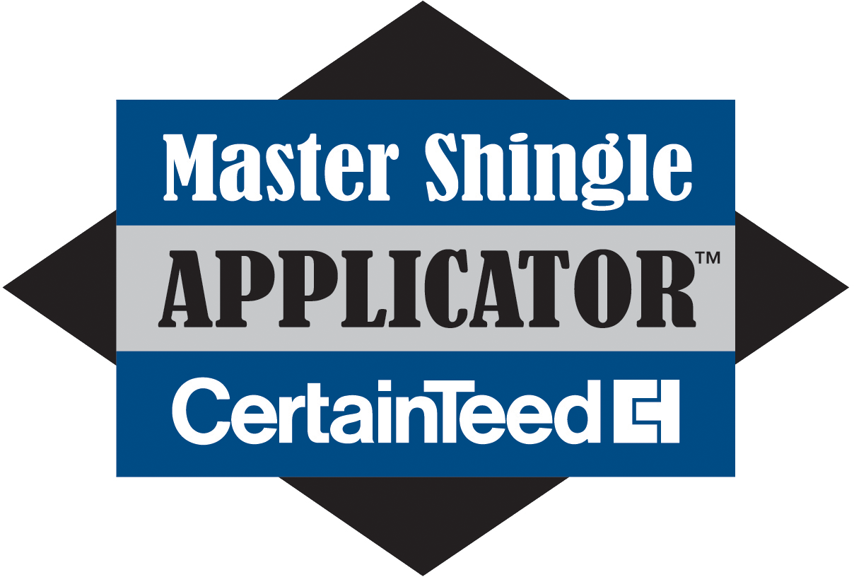 Team Members are CertainTeed Master Shingle Applicators