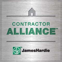 James Hardie Contractor Alliance Program