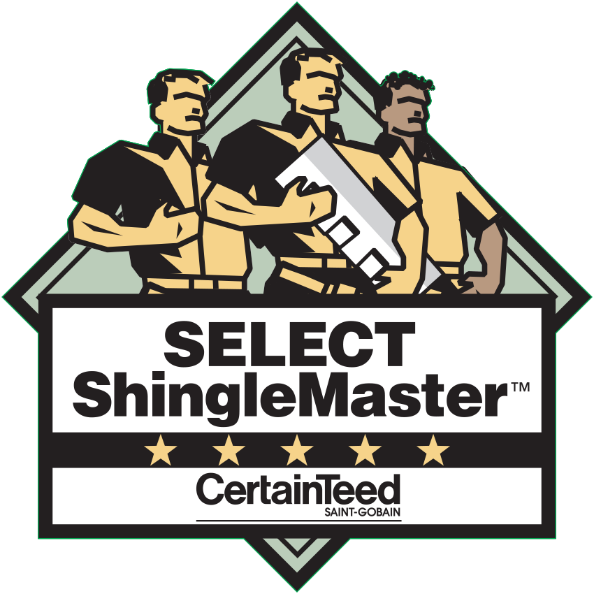 Tenured CertainTeed Select Shingle Master