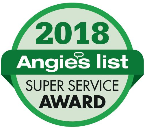 2018 Angie's List Super Service Award!