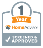 1 Year Home Advisor Badge
