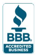 Accredited with the Better Business Bureau