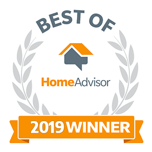 2019 Best of HomeAdvisor Award Winner!