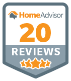 20 Reviews on HomeAdvisor