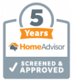 5 Years with HomeAdvisor